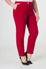 388 брюки спереди красный