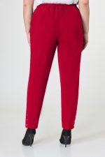 388 брюки спинка красный