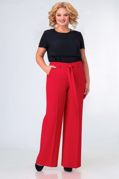 392 брюки красные