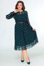 396 зеленый платье