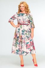 397 бежевое платье